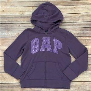 💜Gap Zippered Sweatshirt 💜